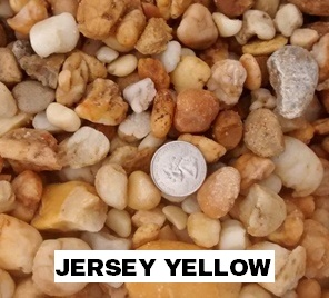 Decorative yellow Stone Ocean County