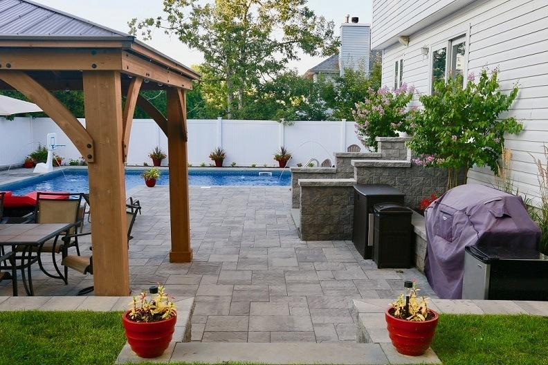 Hardscape hardscaping paver patio Contractor Supplies Ocean County NJ